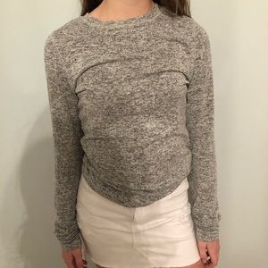 Grey sweater- long sleeve